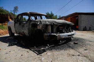 Indígenas de Chiapas incendian autos y casas, se oponen a fumigaciones por dengue