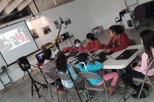 Educación: la alegría de los niños en los  albergues de Tijuana