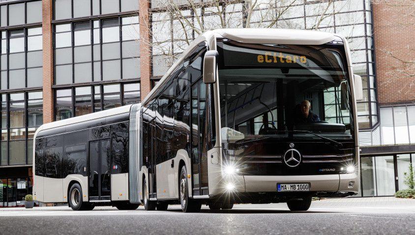 Mercedes-Benz eCitaro G. Crédito: Cortesía Daimler Trucks & Buses.