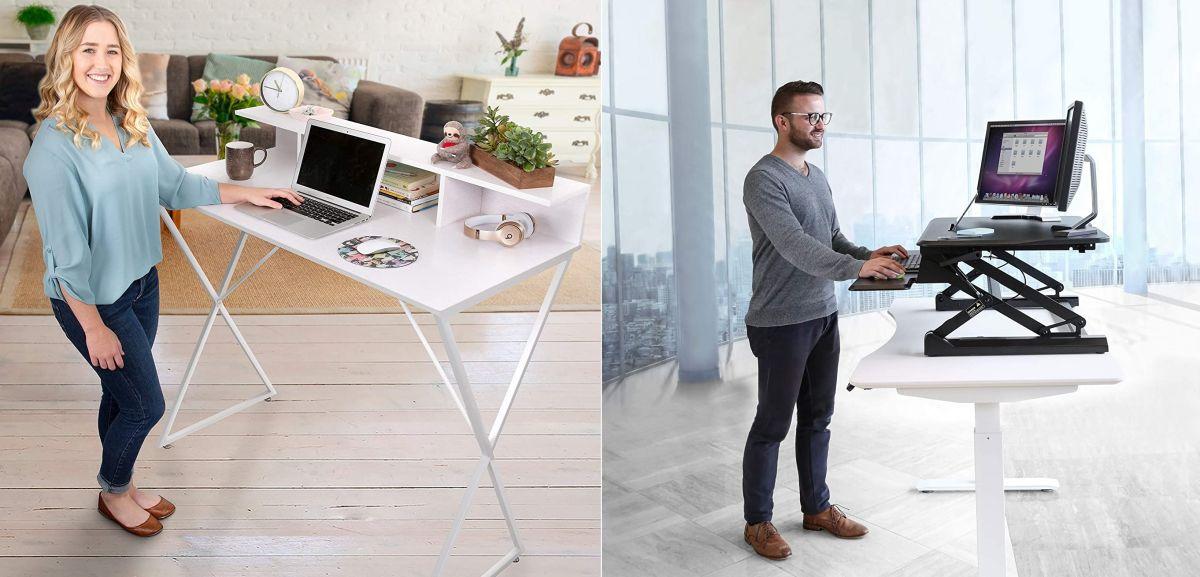 4 estilos de escritorios para trabajar de pie y mejorar tu circulación