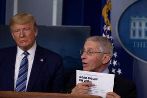 Dr. Fauci confirma que Trump ha relajado atención al coronavirus