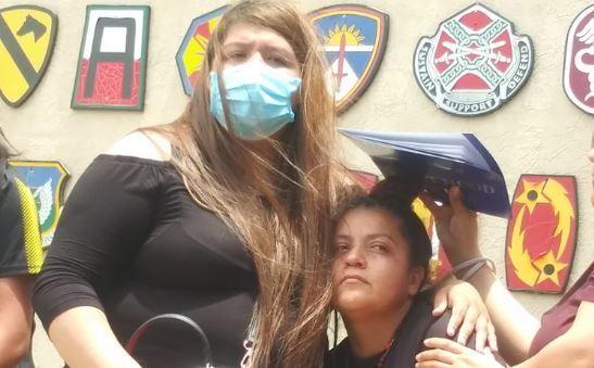 """Mensaje al cielo de la hermana de Vanessa Guillén: """"¿Cuando tenga ..."""