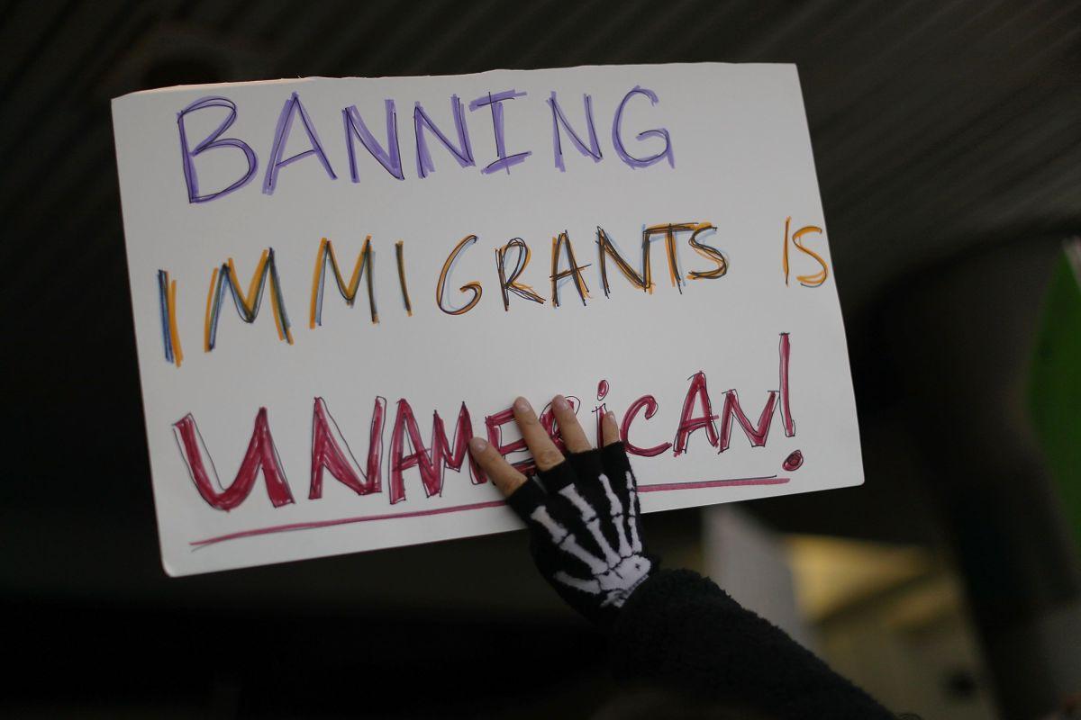 En 2017, el presidente Trump ordenó prohibición de viajes de países con mayoría musulmana.