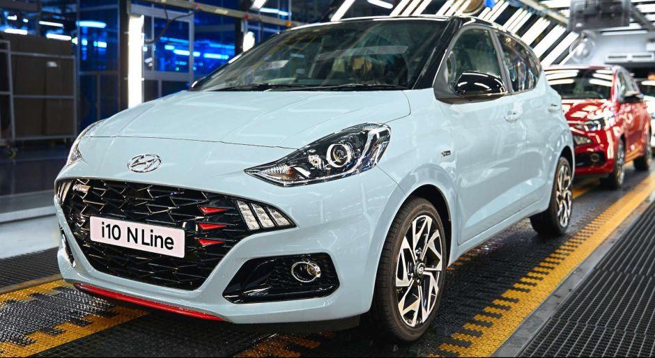 ¡El dinamismo y la deportividad se unen! El nuevo Hyundai i10 N Line ya comenzó su producción