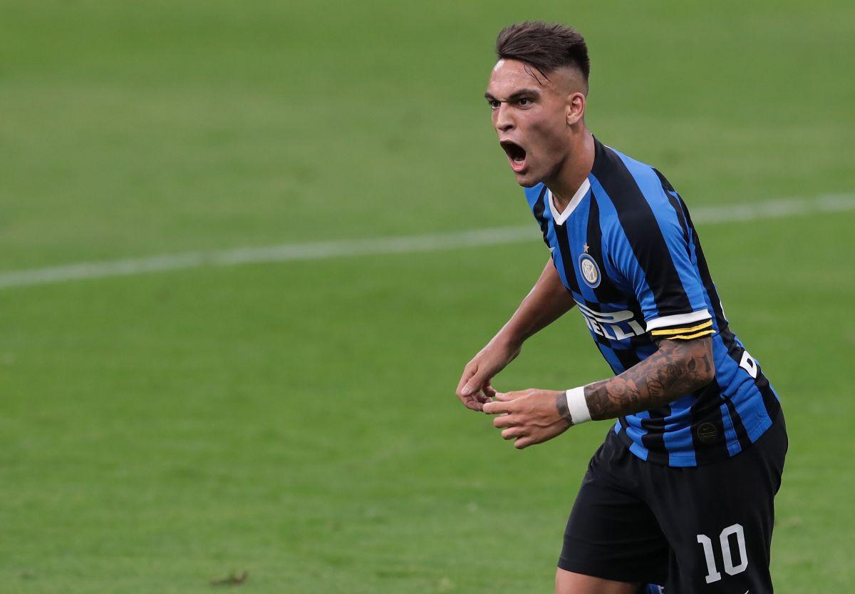 Lautaro Martínez, estrella del Inter de Milán.