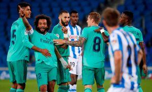 Aunque Zidane dice que no, parece que los árbitros sí ayudan un poquito al Real Madrid