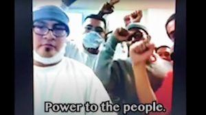 En video: Inmigrantes en cárcel de ICE protestan en solidaridad con Black Lives Matter