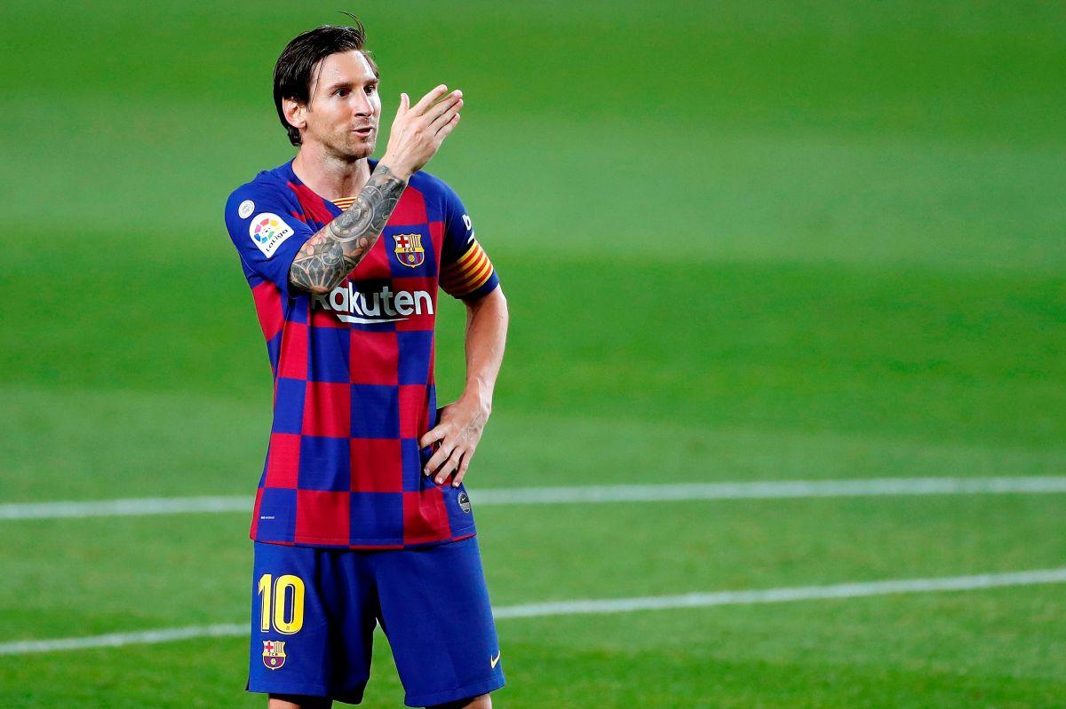 El gran Lionel Messi.