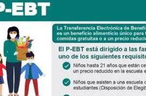 Texas: Se aproxima el plazo para solicitar $285 por niño; no dejes pasar la tarjeta P-EBT