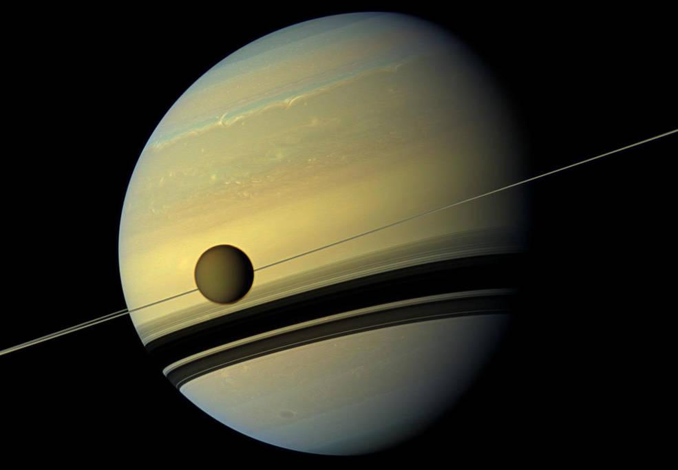 Saturno y Titán