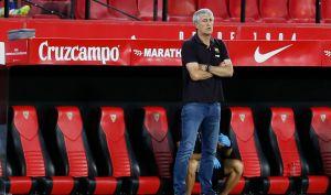 La incógnita: luego del fracaso ¿dirigirá Quique Setién al Barcelona en la Champions League?