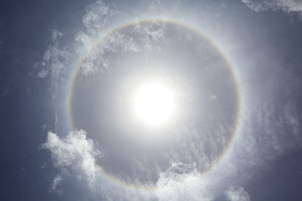 Muchos han relacionado los halos solares con terremotos.