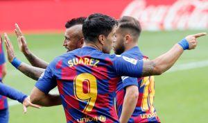 Dardo envenenado: Luis Suárez le envió un mensaje claro al cuerpo técnico del Barça luego del empate