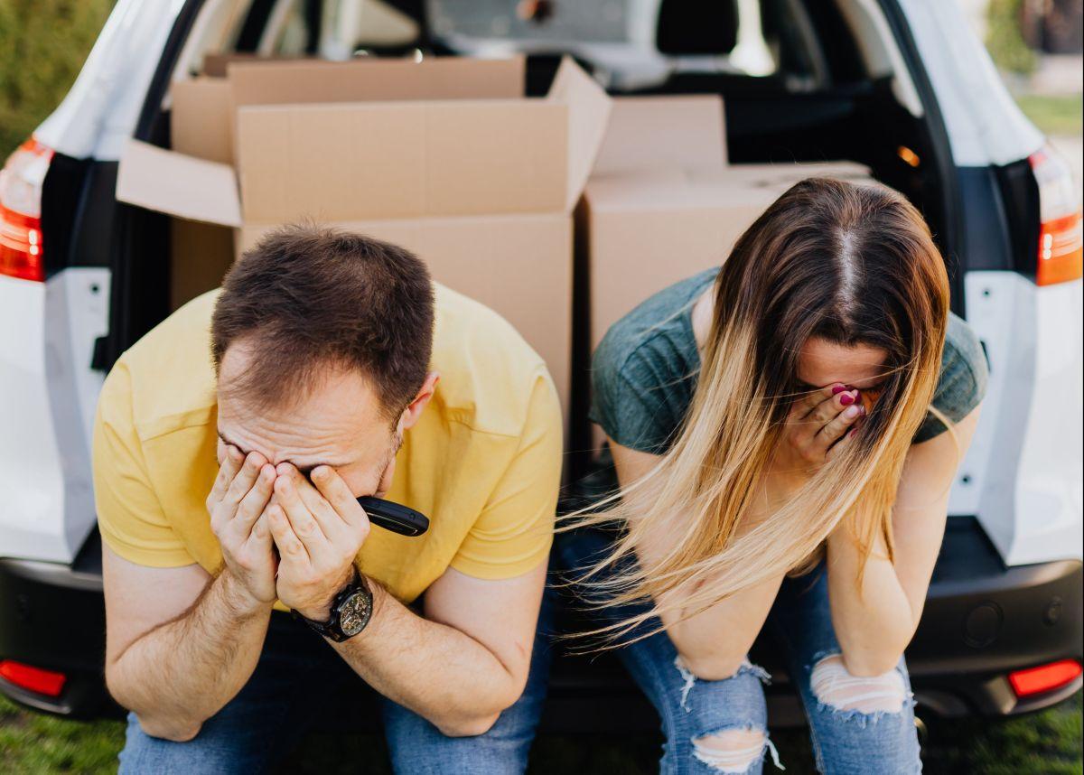 Parejas de signos que podrían tener problemas si viven juntos.