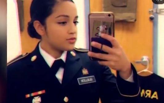 La militar hispana Vanessa Guillén.