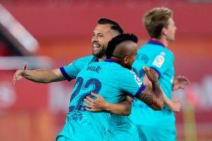 Solo 1 minuto necesitó el Barcelona para reencontrarse con el gol