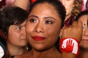 """Yalitza Aparicio recuerda a todos los padres e hijos víctimas de la violencia que """"no podrán dar un abrazo"""""""