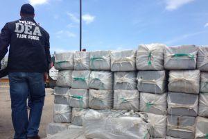 Asestan directo golpe al narco con la incineración de más de 20,000 libras de droga
