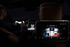 Mercedes-Benz reveló pantallas 3D en el Mercedes-Benz S-Class 2021