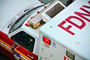 Doble tragedia una misma noche: acuchillado y en busca de ayuda, joven de 21 años muere al chocar en El Bronx