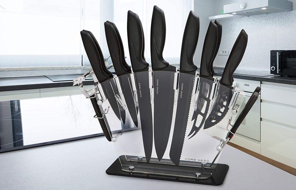 Gourmet: 4 juegos de cuchillo de calidad profesional que no pueden faltar en tu cocina