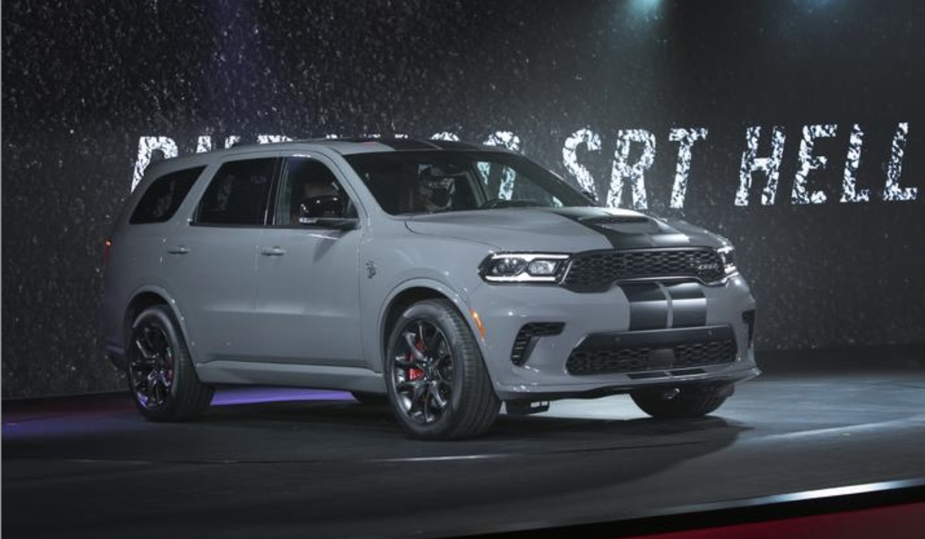 Fiat Chrysler presents the Dodge Durango Hellcat as the most powerful SUV of all