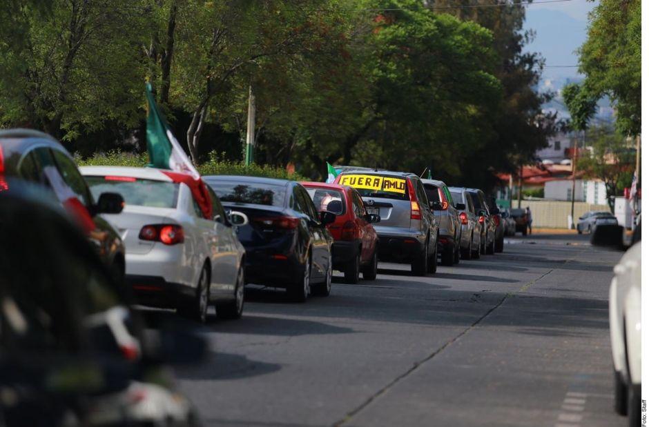 VIDEO: Frente Nacional AntiAMLO pide renuncia de presidente mexicano ante malos resultados