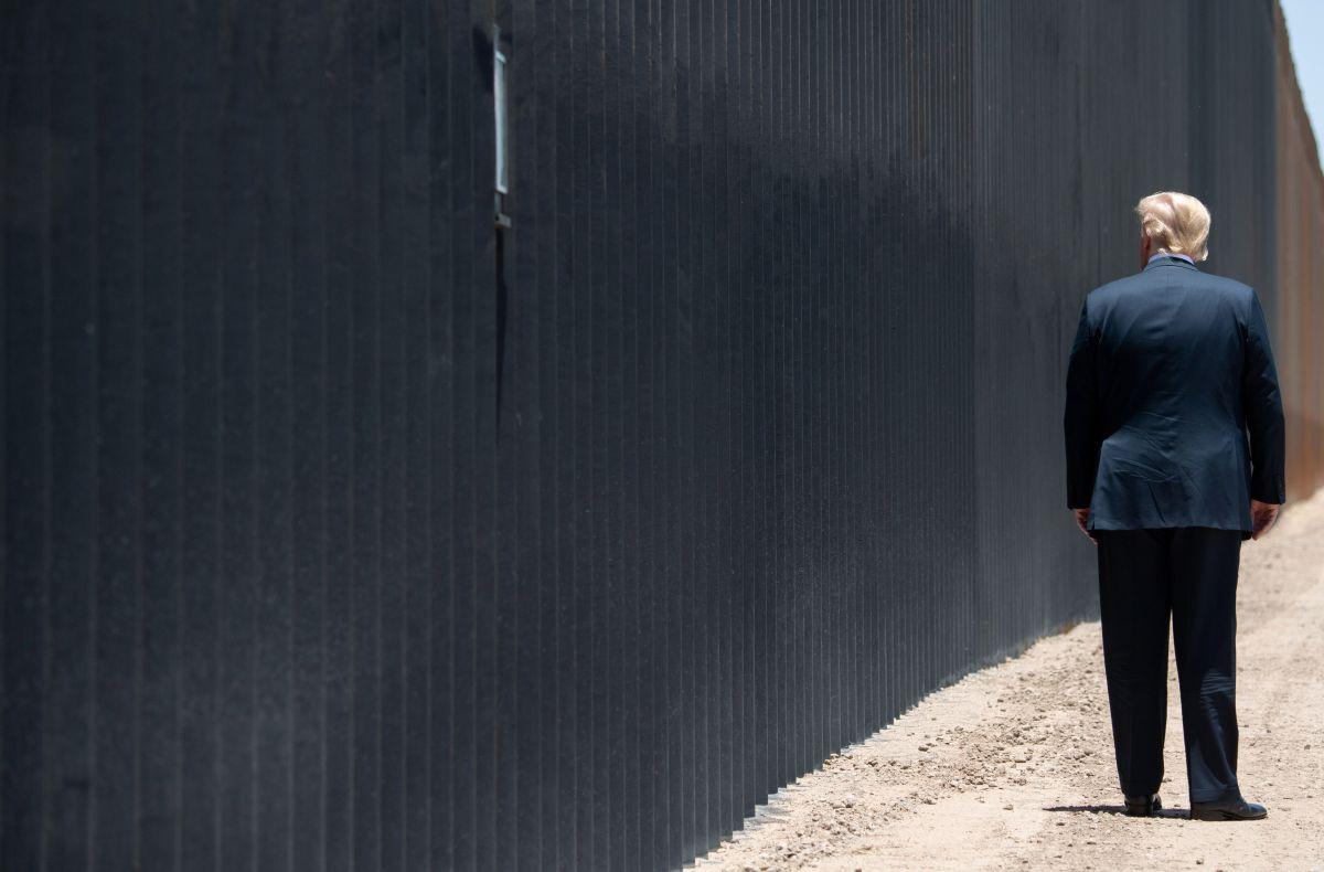 ¿Quién paga el muro fronterizo? La respuesta de Administración Trump tras  encuentro con AMLO