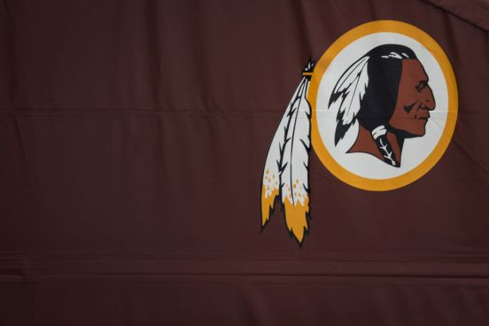 Logo de los Washington Redskins.