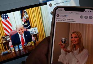 VIDEO: El polémico promocional de campaña de Trump con productos Goya