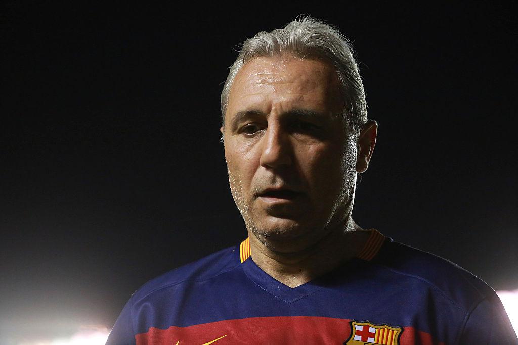 """""""Es un entrenador mediocre"""": Hristo Stoichkov crítica a Quique Setién tras no conseguir el título con Barcelona"""