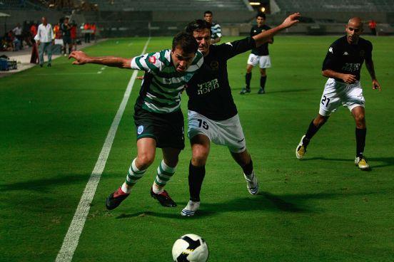 Maccabi Netanya vs Cherno More, encuentro de la UEFA Cup de 2008.