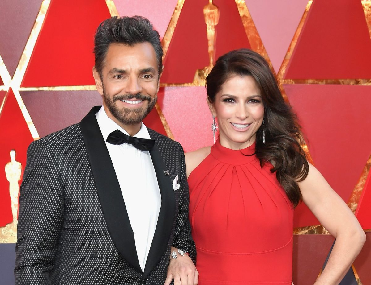 Eugenio Derbez y Alessandra Rosaldo.