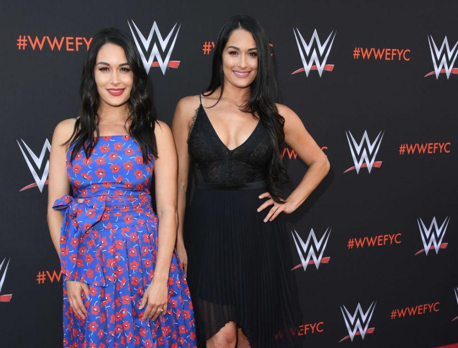 Nikki y Brie Bella, divas de la WWE, dan a luz con solo un día de diferencia