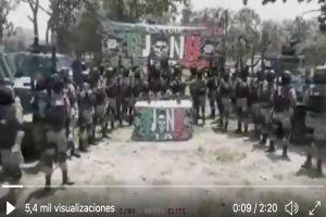 FOTOS: Desmantelan narcocampamento en zona donde el CJNG sufrió derrota