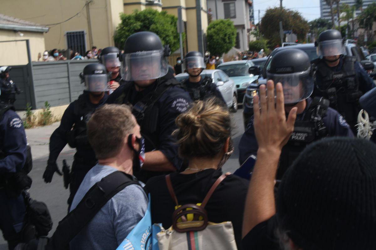 Protestas en LA.