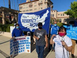 TPSianos abogan para que la corte vote a su favor y puedan permanecer en Estados Unidos