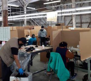 """""""No quiero volver a trabajar en Apparel"""", dice sobreviviente de COVID-19 en Los Ángeles"""
