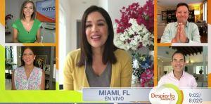 Karla Martínez regresó a 'Despierta América' y habló de su salud