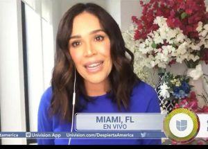 Karla Martínez regresó a 'Despierta América' y ahora su misión es salvar vidas con su sangre