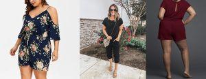 5 jumpsuits plus size ideales para los días de verano