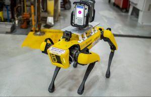 Ford usará perros robots que ayudarán a mejorar el funcionamiento de sus plantas en Detroit