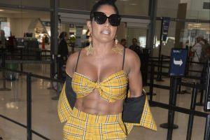 ¡Atrevida! Maripily Rivera se tapa sus senos sólo con su cabello