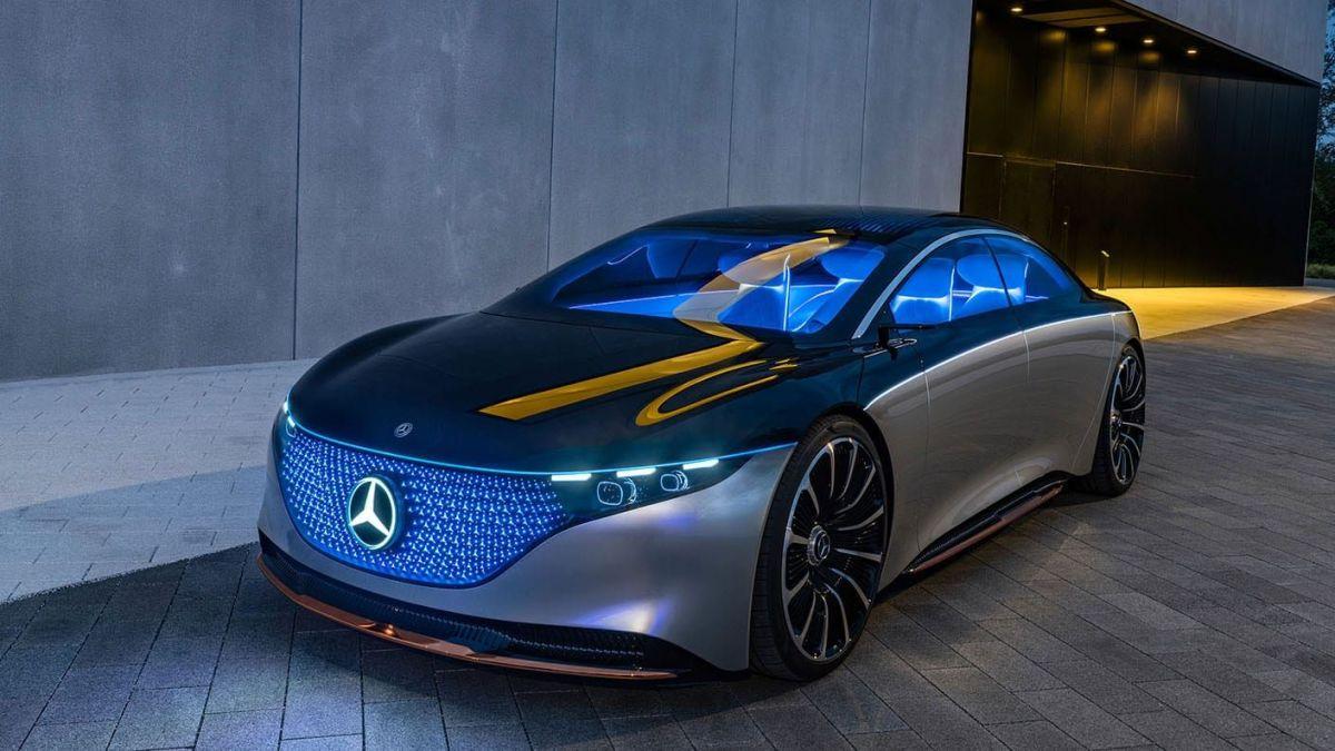 Mercedes-Benz Vision EQS. / Foto: Cortesía Mercedes-Benz.