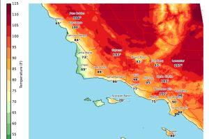 Ola de calor azotará al sur de California este fin de semana