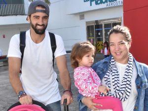 El esposo de Adamari López, Toni Costa, publicó un tierno momento de cuando Alaïa era apenas una bebé