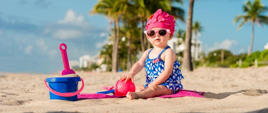 Los mejores diseños de trajes de baño para bebés esta temporada de verano