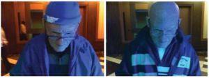 FBI: usando máscaras para disfrazarse de viejo, jugador robó $100 mil dólares en casinos