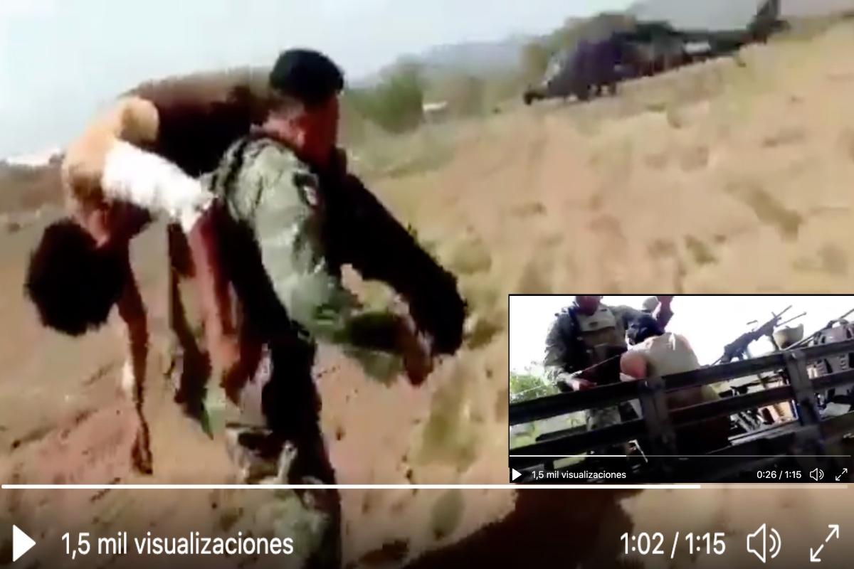 VIDEO: Cárteles Unidos emboscan a soldados, hieren a uno pero ellos abaten a 5 sicarios