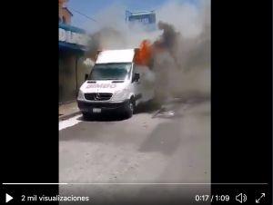 Cae el Cholo, violento narco acusado de incendiar camiones de empresa de pan mexicana